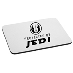 Protected By Jedi Mouse Pad