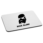 Funny Stormtrooper Move Along Mouse Pad