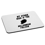 My Other Ride is the Millennium Falcon Mouse Pad