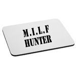 MILF Hunter Funny Cougars Mouse Pad