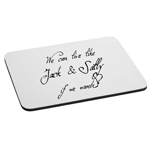 We Can Live Like Jack and Sally If We Want Nightmare Mouse Pad