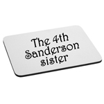 The 4th Sanderson Sister Witches Inspired Mouse Pad