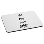 Eat Prey Love Zombies Funny Parody Walkers Mouse Pad