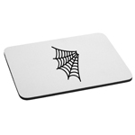 Spider Web Corner Halloween Mouse Pad