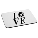I Love Galactic Empire Mouse Pad