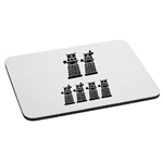 Dalek Robot Exterminate Family Mouse Pad