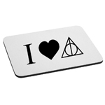 I Love HP Mouse Pad