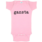 Gangsta Funny Baby Bodysuit Infant