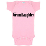 Granddaughter Godfather Parody Funny Baby Bodysuit Infant
