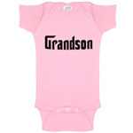 Grandson Godfather Parody Funny Baby Bodysuit Infant