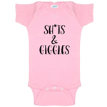Sh*ts And Giggles Funny Baby Bodysuit Infant