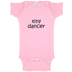 Tiny Dancer Funny Baby Bodysuit Infant