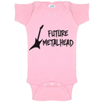 Future Metalhead Funny Baby Bodysuit Infant