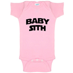 Baby Sith Star Wars Parody Funny Baby Bodysuit Infant