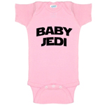 Baby Jedi Star Wars Parody Funny Baby Bodysuit Infant