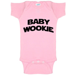 Baby Wookie Star Wars Parody Funny Baby Bodysuit Infant