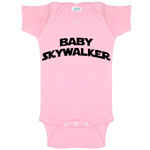 Baby Skywalker Star Wars Parody Funny Baby Bodysuit Infant
