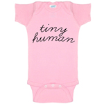 Tiny Human Funny Baby Bodysuit Infant