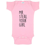 Mr. Steal Your Girl Funny Baby Bodysuit Infant