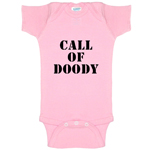 Call Of Doody Parody Funny Baby Bodysuit Infant