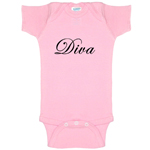 Diva Funny Baby Bodysuit Infant