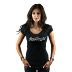 Thick Girl Sexy BBW Silhouette Women's T-Shirt