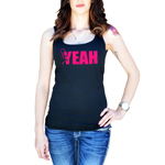 Funny Humping Stick Figure F*ck Yeah Women's Tank Top