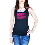 13 Colonies Vintage American Flag Women's Tank Top