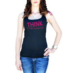 THINK It's Not Illegal Yet Funny Women's Tank Top