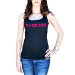 Funny F*ck Yeah Star Women's Tank Top