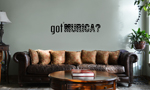 Patriotic USA Got Murica Vinyl Wall Mural Decal Home Decor Sticker