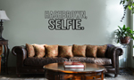 Hashbrown Selfie Funny Vinyl Wall Mural Decal Home Decor Sticker