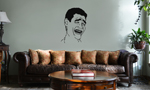 Yao Ming Bitch Please Meme Face Vinyl Wall Mural Decal Home Decor Sticker