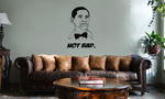 Funny Not Bad Obama Meme Face Vinyl Wall Mural Decal Home Decor Sticker