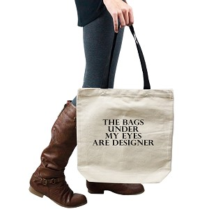 Funny The Bags Under My Eyes Are Designer Tote Handbag Shoulder Bag Purse