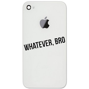 "JDM Funny Whatever Bro 2"" Vinyl Sticker Cell Phone Decal"