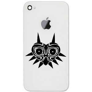 "Majora's Mask Inspired Silhouette 2"" Vinyl Sticker Cell Phone Decal"