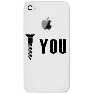 "Screw You Funny Mechanic Joke JDM 2"" Vinyl Sticker Cell Phone Decal"