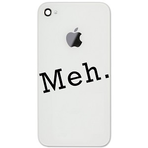 "Funny JDM Meh Saying Meme 2"" Vinyl Sticker Cell Phone Decal"
