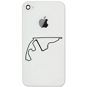 "Yas Island Marina Circuit Track Map Abu Dhabi 2"" Vinyl Sticker Cell Phone Decal"