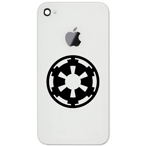 "Galactic Empire 2"" Vinyl Sticker Cell Phone Decal"