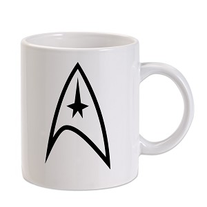Trek Federation Symbol 11 oz. Novelty Coffee Mug