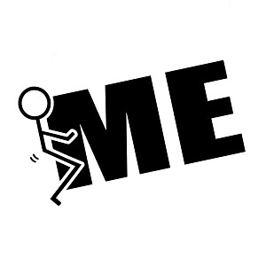 Funny Humping Stick Figure F*ck Me Vinyl Sticker Car Decal