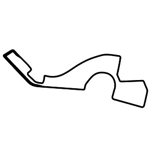 Sochi Autodrom Race Track Map Vinyl Sticker Car Decal