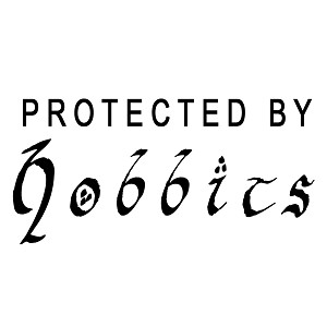 Protected By Hobbits LOTR Inspired Vinyl Sticker Car Decal