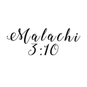 Malachi Bible Verse God Christian Vinyl Sticker Car Decal - Bible verse custom vinyl decals for car