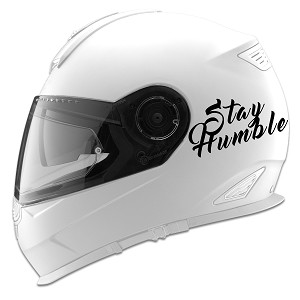 Stay Humble Auto Car Racing Motorcycle Helmet Decal