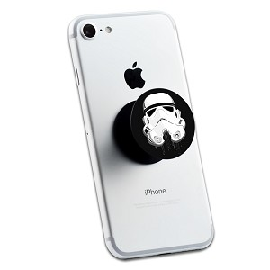 Dripping Storm Trooper Helmet 2 Sticker Set for Pop Grip Stent for Phones and Tablets (Stickers Only)