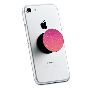 Pink Glitter 2 Sticker Set for Pop Grip Stent for Phones and Tablets (Stickers Only)