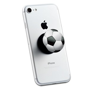 Soccer Ball 2 Sticker Set for Pop Grip Stent for Phones and Tablets (Stickers Only)